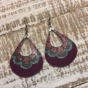 Jewelry - Teardrop Moroccan Style Earrings